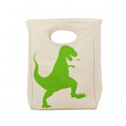 Fluf Organic Lunch Bag - T-Rex